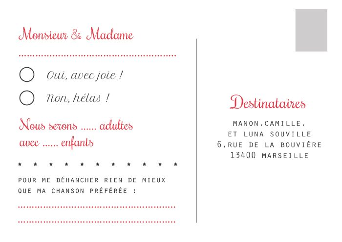 carton r ponse mariage mod les r ponse invitation mariage. Black Bedroom Furniture Sets. Home Design Ideas