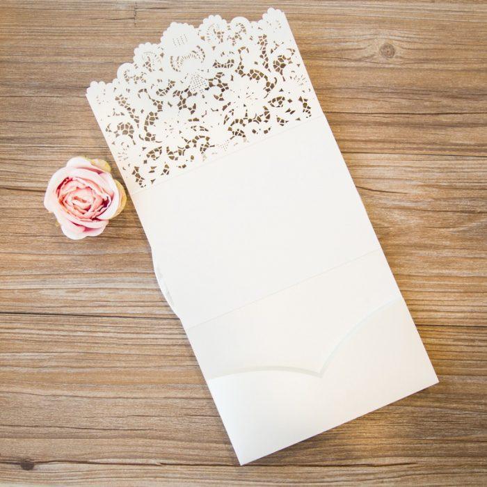Pochette invitation mariage