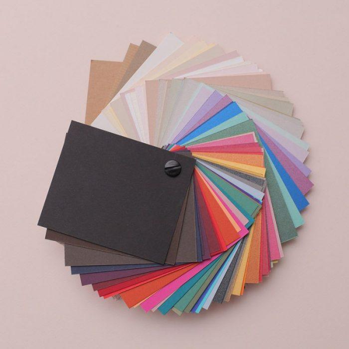 Nuancier couleur, pour enveloppe